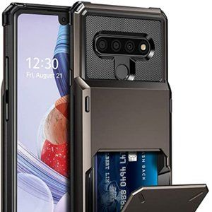 LG Stylo 6 Protective Phone Case with Card Holder